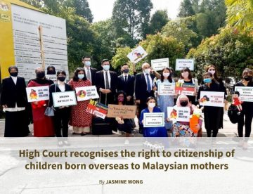 High Court recognises the right to citizenship of children born overseas to Malaysian mothers